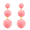 Wellington Drop  Earrings - Rose