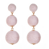 Wellington Drop  Earrings - Blush