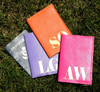 Mia Personalized Initial Passport Cover, Personalized  Leather Passport Holder