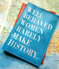 Well Behaved Women Rarely Make History Leather Passport Holder,  Women's Custom Passport Cover. Leather Women's personalised passport cover