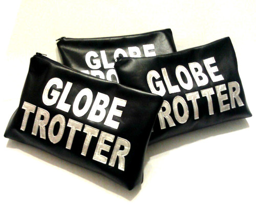 Parola Customized Globe Trotter Leather Pouch