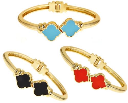 Enamel Signature  Bracelet