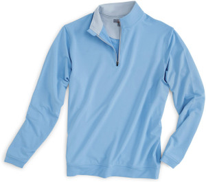 Peter Millar Perth Performance Pullover in Cottage Blue