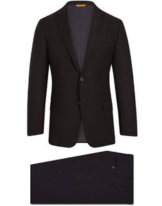 Hickey Freeman Super 150's Tasmanian Suit: Beacon in Black