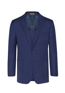 Hickey Freeman Global Guardian Blazer: Beacon in High Blue