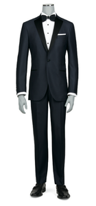 Jack Victor 1 Button Gable Tuxedo in Navy