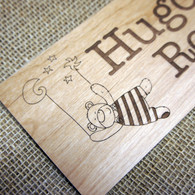 Wooden engraved children's and baby's bedroom  signs - Sweet Dreams