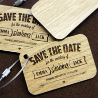 Save the Date Keyring