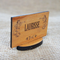 Personalised Wooden Wedding Place Names - Cherub Stands