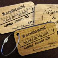 Save the Date Keyrings