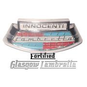 Lambretta s2 & s3 Li/SX/TV HORNCAST BADGE by FORTIFIED (Original Italian spec)