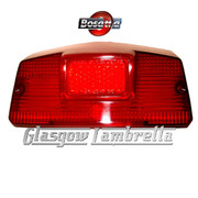 Lambretta GP / DL Italian REAR LIGHT LENS by BOSATTA