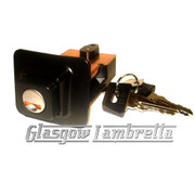 Vespa PX SEAT LOCK UNIT + 2 KEYS