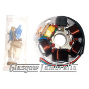 Vespa PX 125/150/200 Scooter STATOR PLATE 120W (5 wire models up to 2011)