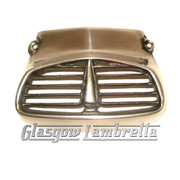 Lambretta HIGHLY POLISHED ALLOY HORN / HORNCAST GRILL SX/TV3/LiSpecial