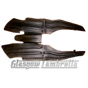 Lambretta Series 3 BLACK RUBBER FULL FLOOR MAT Li/SX/TV/GP/Special