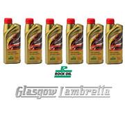 HALF CASE 6 x 1 Litre ROCK OIL SYNTHESIS 2 RACING F/S 2T ENGINE OIL + Free OIL MEASURE JUG