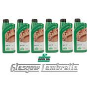 Lambretta Series 1, 2, 3 & GP 6 x 1 Litre ROCK OIL ST90 GEAR / GEARBOX OIL Li/TV/SX/GP