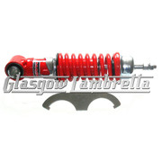 Carbone Italian Top Quality Vespa Small Frame RED SHOCK ABSORBERS SET