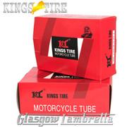 """Set 3 x Vespa 8"""" Wheel KINGS TIRE SCOOTER INNER TUBE 350 x 8 & 400 x 8 + FREE Valve Spanner"""