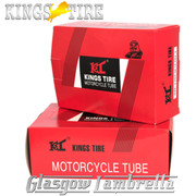 "Set 2 x Vespa  8"" Wheel KINGS TIRE SCOOTER INNER TUBE 350 x 8 & 400 x 8 + FREE Valve Spanner"