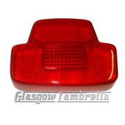 Vespa Scooter REAR LIGHT LENS Super, Sport, Sprint, VBC, VLB, Rally, SS180