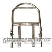 Lambretta S3 60's/ULMA STYLE POLISHED STAINLESS STEEL REAR RACK
