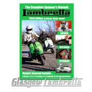 NEW!! 3rd EDITION LAMBRETTA SCOOTERS COMPLETE SPANNER'S MANUAL