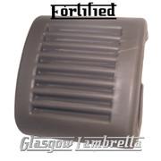 FORTIFIED Lambretta s1,2 & 3 Li/SX/TV/GP/DL GREY KICKSTART PEDAL RUBBER