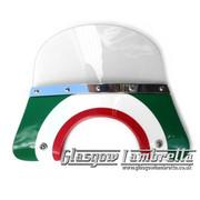 Vespa PX & T5 / LML ITALIAN FLAG TARGET FLYSCREEN