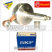 MAZZUCCHELLI Italian Lambretta GP/DL CRANKSHAFT 58/107mm + SKF/FAG CRANK BEARING