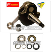 MAZZUCCHELLI Italian Vespa PX 125 / 150 RACE CRANKSHAFT + CRANK BEARINGS & SEAL KIT