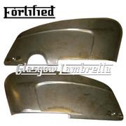FORTIFIED Lambretta SX 150, Li Special, s3 TV SIDE PANEL SET (Original Innocenti spec)