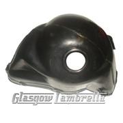 Vespa Small Frame v50/90/100 CYLINDER HEAD COWLING (black plastic)