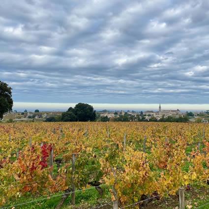 Saint-Émilion in autumn