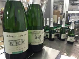 So there's the story. Ch Bauduc Crémant de Bordeaux