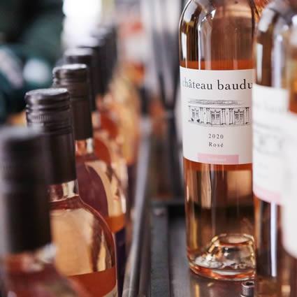 Bottling the 2020 wines