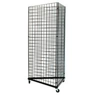 Grid Display Unit - Triangle 2' Sides Black