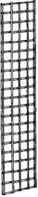 "3"" Square Grid Panel Black 2'Wx8'H"