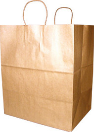 Kraft Take-out Shopper bag #9