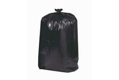 55 Gallon 17 Mil Trash Bag Blk