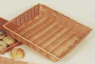 "Poly Willow Tray - Large - 20"" x 13.5"" x 4"" Washable"