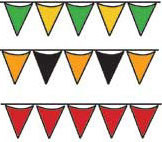 Pennant Flags - Multiple colors 105'