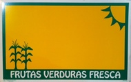 Frutas Verduras Fresca Price Card 7 x 11