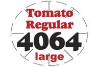 Tomato Regular PLU #4064 Label
