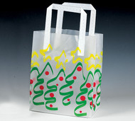 Frosted Tote bag Christmas Tree