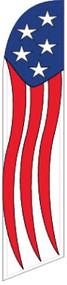 Stars & Stripes Windless Tall Flag