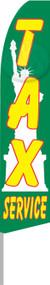 TAX SERVICE Tall Flag