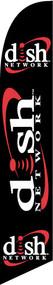 Dish Network Windless Tall Flag