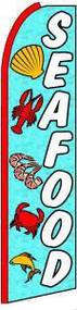 Seafood Tall Flag